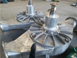 冷却塔水轮机
